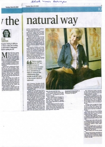 Irish Times Karen Costin March 2010